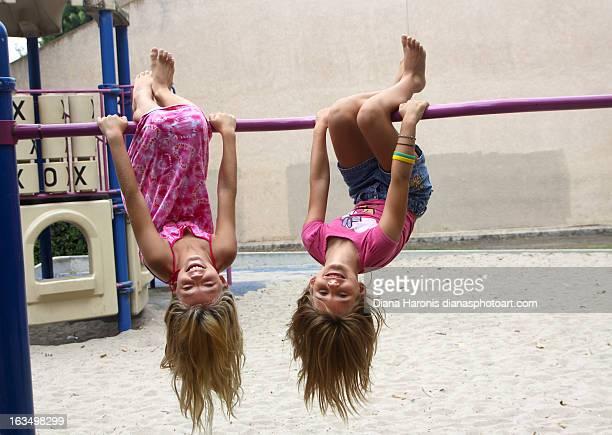Hanging Around at the Playground