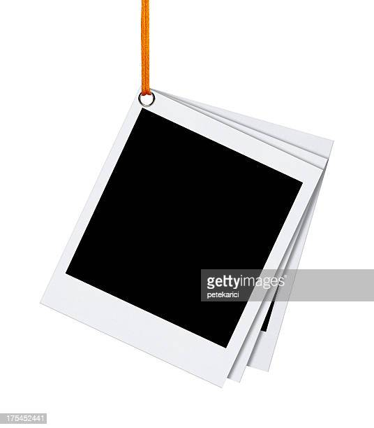 Hanging Blank Photo (Clipping Path)