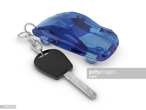Pendurar-carro e chave