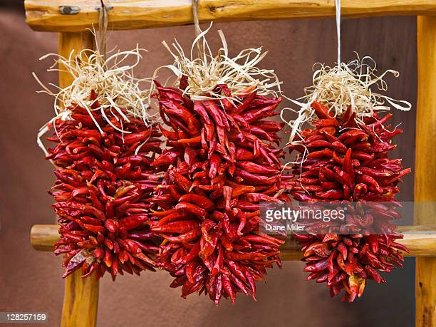 Hanging Chile ristra