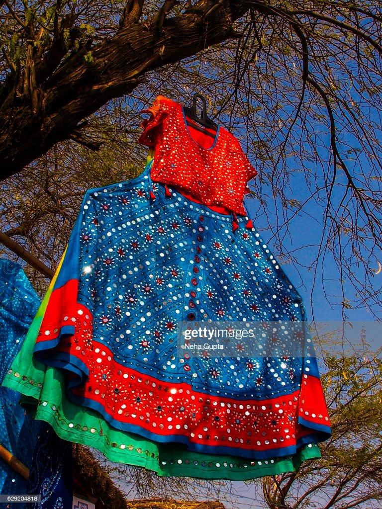 Hanging Dresses : Stock Photo