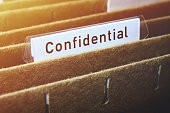 Hanging File Labelled Confidential