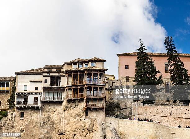 Hanging houses, Cuenca, Castilla La Mancha, Spain