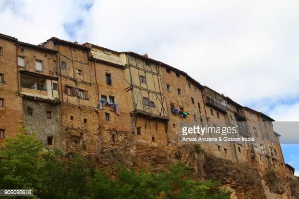Hanging houses in Frías. Burgos province, Castilla y León. Spain