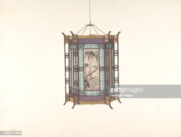 Hanging Lantern 19th century Artist Anon
