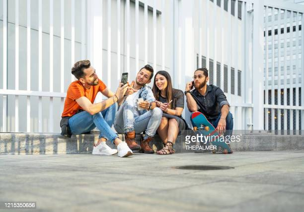 hanging out with my best friends - puerto rican ethnicity stock pictures, royalty-free photos & images