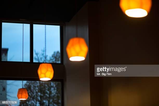 Hanging Pendant Lights Round