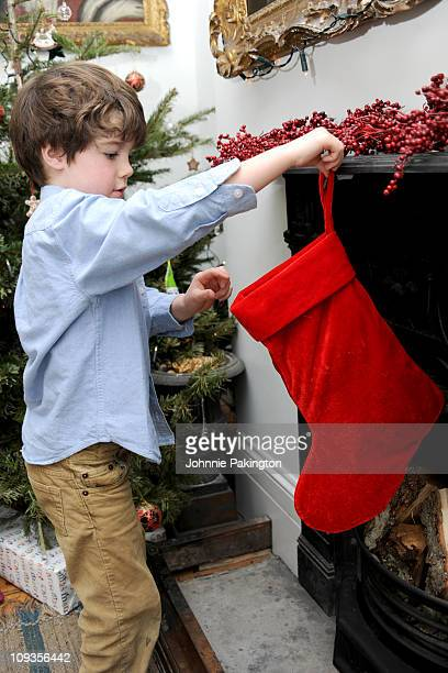 Hanging stocking for Santa Claus