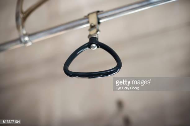 hanging strap in metro - lyn holly coorg imagens e fotografias de stock