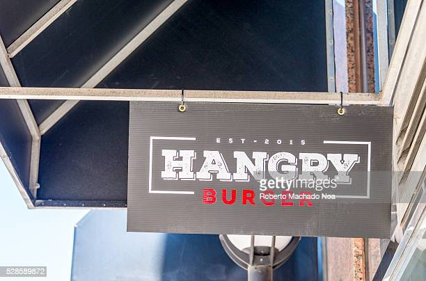 Hangry Burger is a new fast food store established in 2015 specializing in hamburgers The first store is located in Yonge and College streets in...