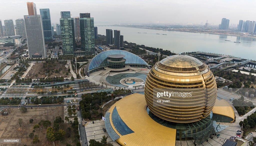 Hangzhou grand theater and hangzhou international - Hangzhou congress center ...