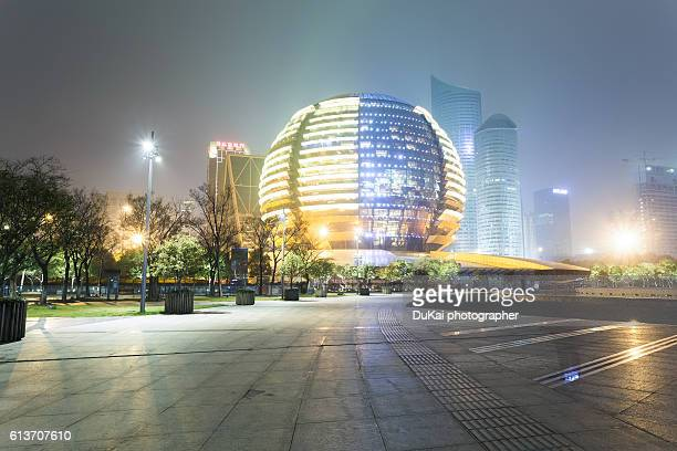 Hangzhou qianjiang new city