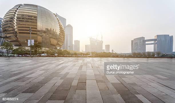 Hangzhou qianjiang new city