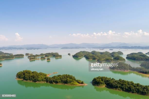 hangzhou thousand island lake - zhejiang province stock pictures, royalty-free photos & images