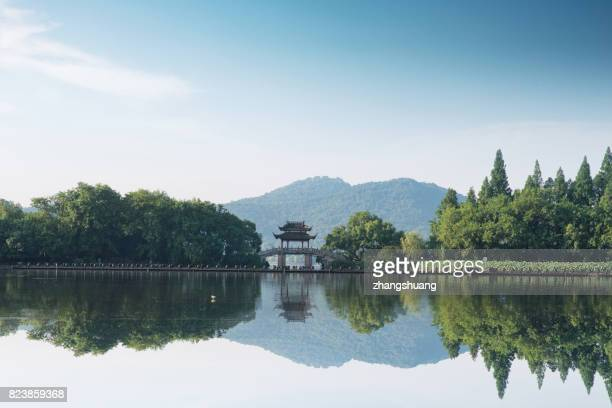 Hangzhou West Lake Qu Yuan wind load