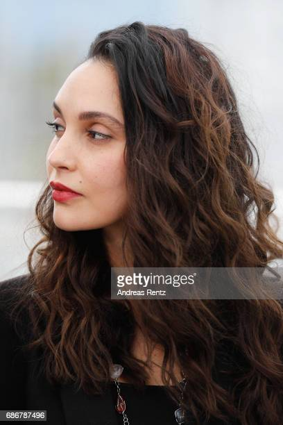 Hania Amar attends the 'Waiting For Swallows ' photocall during the 70th annual Cannes Film Festival at Palais des Festivals on May 22 2017 in Cannes...