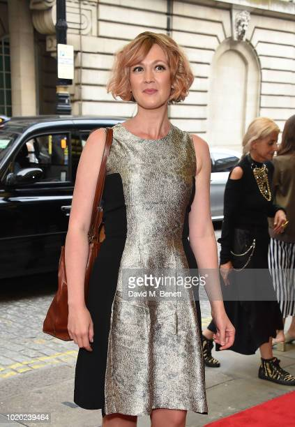 Hania Elkington attends a special screening of 'The Innocents' at The Curzon Mayfair on August 20 2018 in London England
