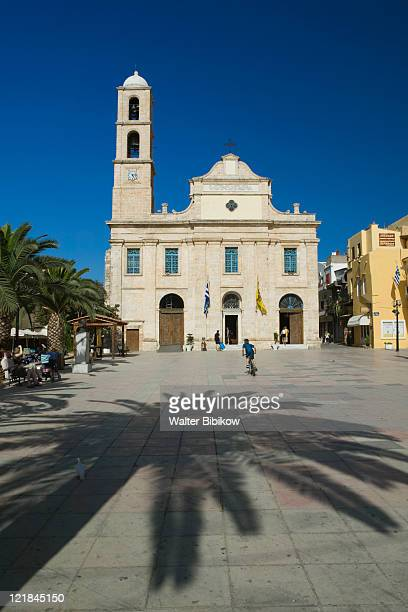 Hania Greek Orthodox Cathedral, Hania, Hania Province, Crete, Greece