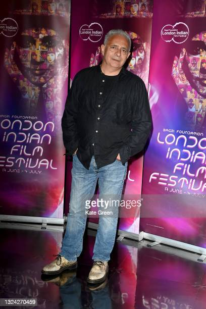"""Hanif Kureshi attends """"My Beautiful Laundrette"""" screening during London Indian Film Festival 2021 at BFI Southbank on June 18, 2021 in London,..."""