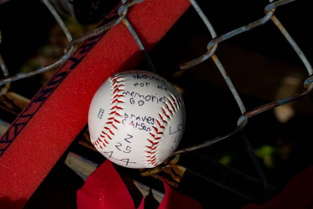 GA: Former Atlanta Braves' Hall Of Fame Baseball Legend Hank Aaron Memorialized In Atlanta