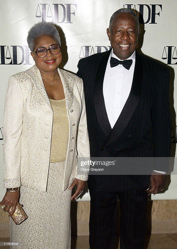 NAACP Legal Defense Fund's Hank Aaron Humanitarian Award in Sports