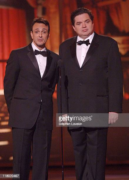 Hank Azaria and Oliver Platt during 60th Annual Tony Awards Show at Radio City Music Hall in New York New York United States