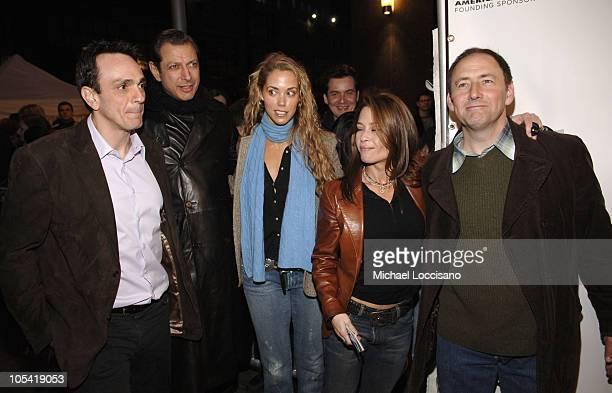 Hank Azaria Jeff Goldblum Elizabeth Berkley Julie Warner Producer and Arye Gross
