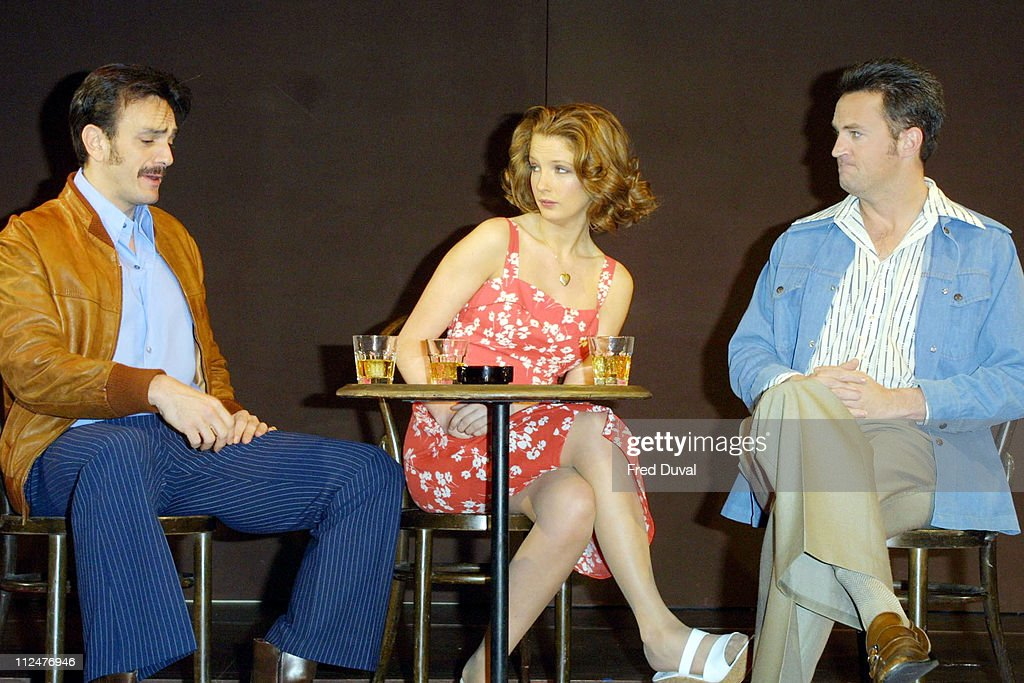 """Matthew Perry In The Theatrical Production OF """"Sexual Perversity In Chicago"""""""