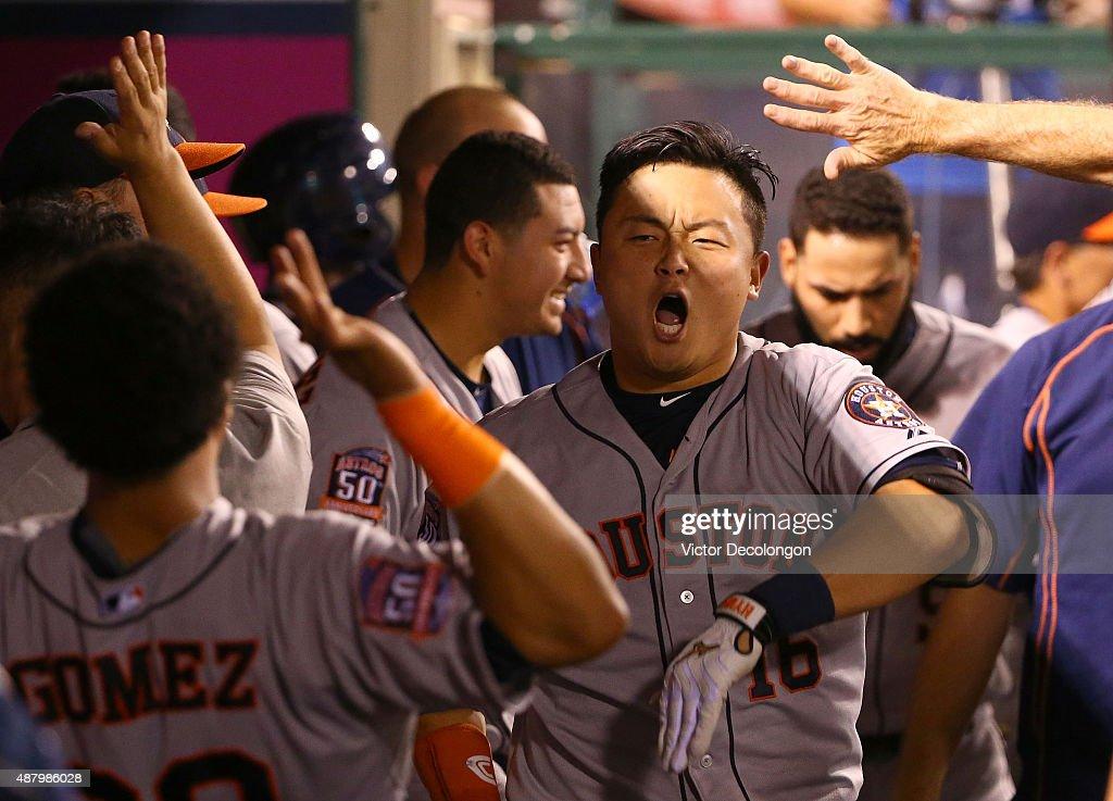 Houston Astros v Los Angeles Angels of Anaheim : Fotografía de noticias