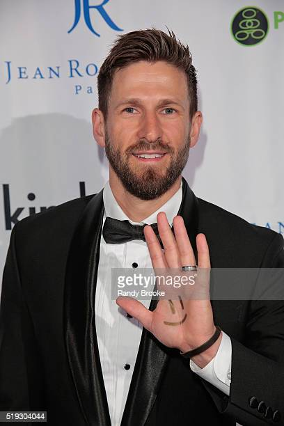 Hank Fortener founder of AdoptTogether attends The Kindred Foundation For Adoption's Second Annual Gala at Highline Ballroom on April 5 2016 in New...