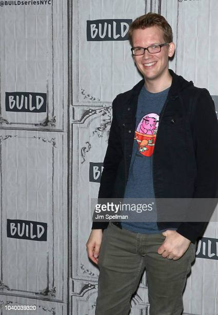 Hank Green attends the Build Series to discuss'An Absolutely Remarkable Thing' at Build Studio on September 25 2018 in New York City