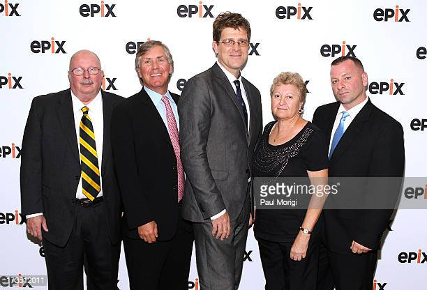 Hank Hughes Senior Accident Investigator NTSB Mark Greenberg EPIX President and CEO Tom Stalcup Coproducer TWA Flight 800 Phyllis Torney TWA 800...