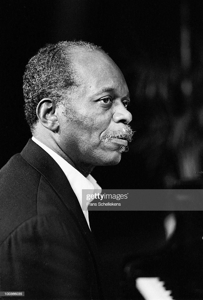 Hank Jones performs live on stage at the NOS Jazz Festival at Meervaart in Amsterdam, Netherlands on August 12 1982