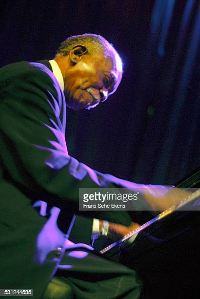 Hank Jones piano performs at the North Sea Jazz Festival in Ahoy on July 15th 2006 in Rotterdam Netherlands