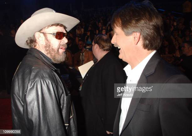 Hank Williams and Jeff Foxworthy during 2006 CMT Music Awards Backstage and Audience at Curb Events Center at Belmont University in Nashville...