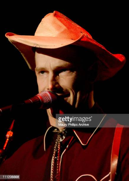 Hank Williams III during Dwight Yoakam Performs at The Greek Theatre at The Greek Theatre in Los Angeles California United States
