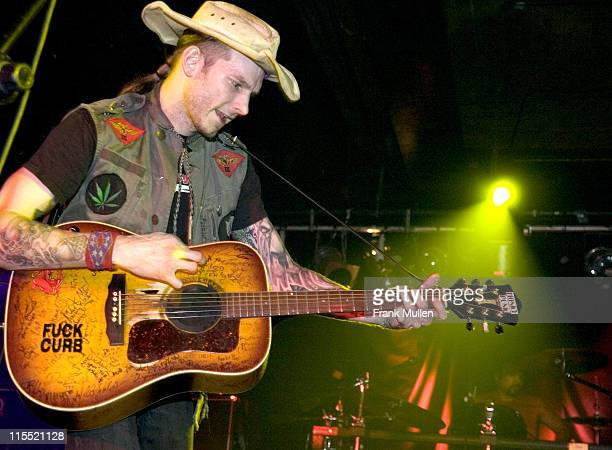 Hank Williams III during Hank Williams III in Concert Tour Opener March 30 2005 at Masquerade in Atlanta Georgia United States