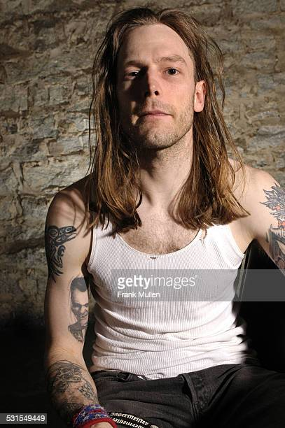 Hank Williams III during Hank Williams III Portrait Session March 30 2005 at Masquerade in Atlanta Georgia United States