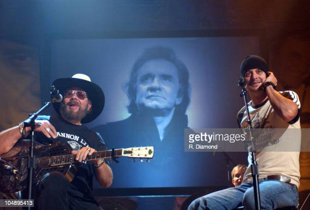 Hank Williams Jr. And Kid Rock rehearse for the 2 hour special that premieres Saturday November 15th at 8pm EST/PST on CMT