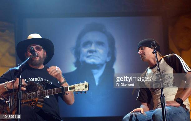 Hank Williams Jr and Kid Rock rehearse for the 2 hour special that premieres Saturday November 15th at 8pm EST/PST on CMT