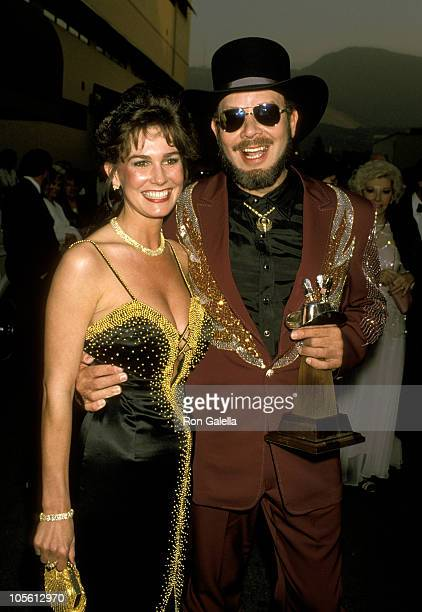 Hank Williams Jr and Wife Mary Jane Thomas during 24th Annual Academy of Country Music Awards at Disney Studio in Los Angeles California United States