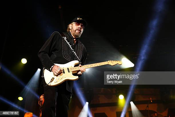 Hank Williams Jr performs at the 5th Annual NRA Country Jam on April 10 2015 in Nashville Tennessee