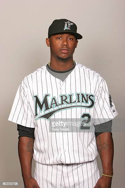 Hanley Ramirez of the Florida Marlins poses for a portrait during photo day at Roger Dean Stadium on February 22 2008 in Jupiter Florida