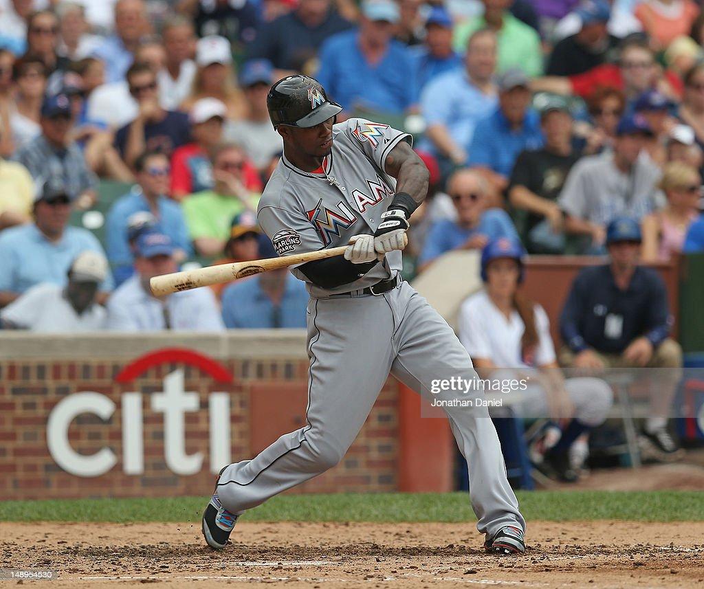 Miami Marlins v Chicago Cubs : News Photo