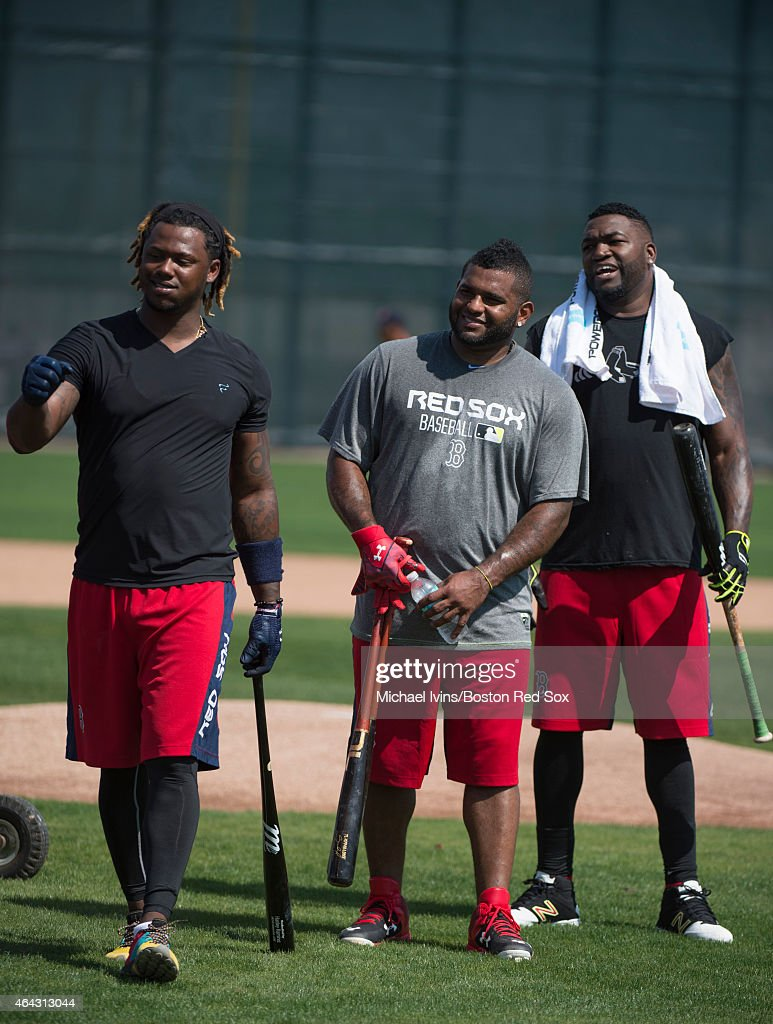 Red Sox Spring Training : News Photo