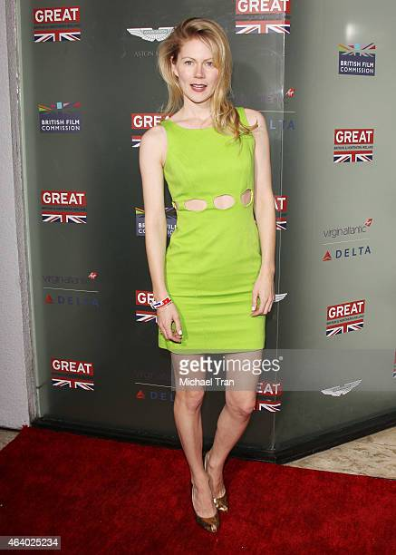 Hanna Alstrom arrives at the GREAT British Film Reception held at The London West Hollywood on February 20 2015 in West Hollywood California