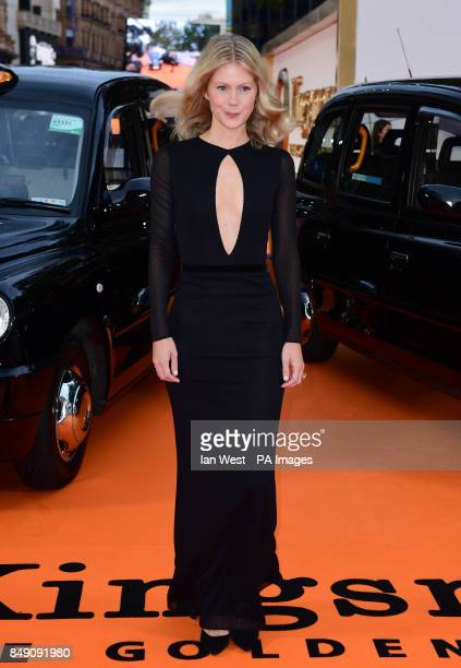 Hanna Alstrom attending the World Premiere of Kingsman The Golden Circle at Cineworld in Leicester Square London Picture Date Monday 18 September...
