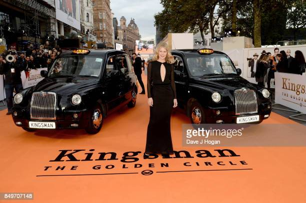 Hanna Alstrom attends the 'Kingsman The Golden Circle' World Premiere held at Odeon Leicester Square on September 18 2017 in London England