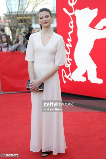 Hanna Ardehn attends the premiere for the screening of the Netflix film 'Quicksand' during the 69th Berlinale International Film Festival Berlin at...
