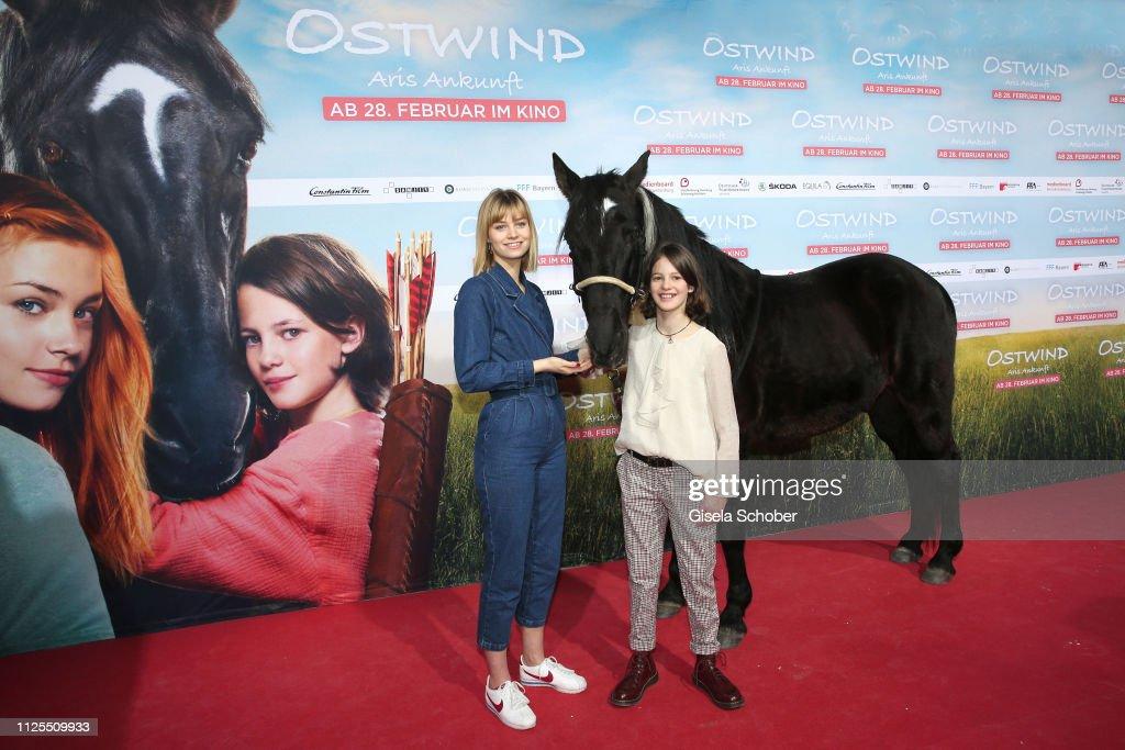 """DEU: """"Ostwind - Aris Ankunft"""" Premiere In Munich"""